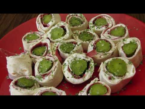 How to make homemade Pickle Wraps Roll Ups