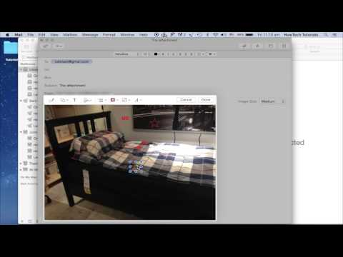 How to Annotate Attachments in Mac OS X Yosemite Mail App