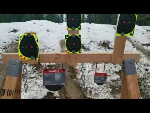 Portable $13 2x4 Steel Target Stand