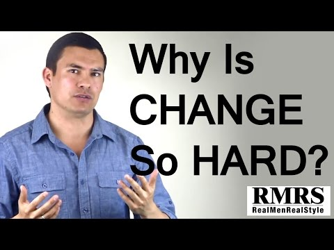 Why Is Change So Hard | Breaking A Bad Habit | Creating Good Habits | Habit Formation