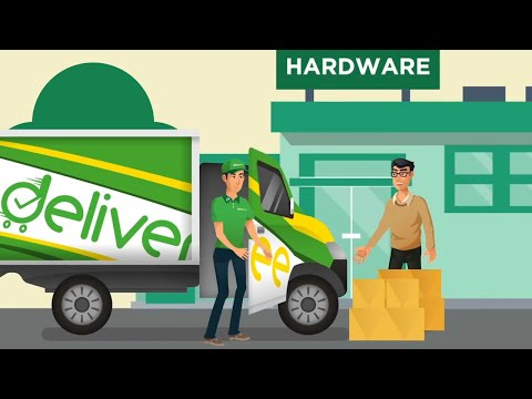 Learn About Deliveree With Motion Graphics