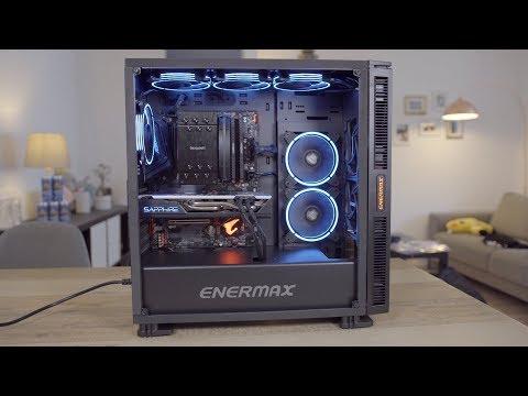 1300€ Gaming PC - Intel i5 8600K | RX 580 | 16GB RAM | RGB Lüfter