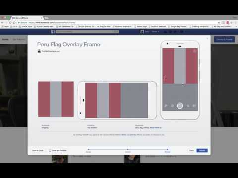 How to create a Free Facebook Profile Frame Overlay