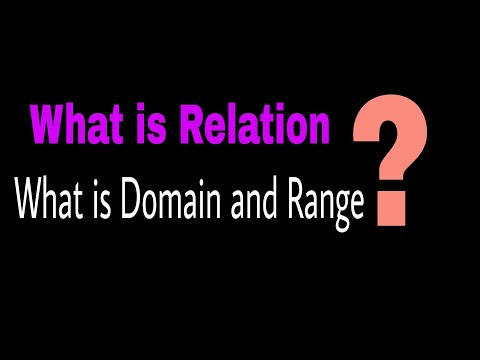 What Is Relation | Relations in Mathematics | Explained with Examples |