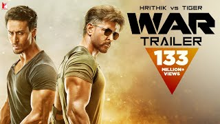War Trailer | Hrithik Roshan | Tiger Shroff | Vaani Kapoor |4K | New Movie Trailer 2019
