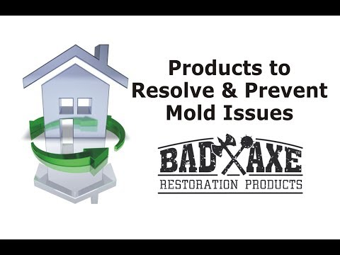 Products to Resolve and Prevent Mold Issues by Bad Axe Restoration Products