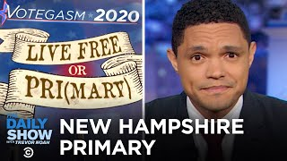The New Hampshire Primary 2020 | The Daily Show