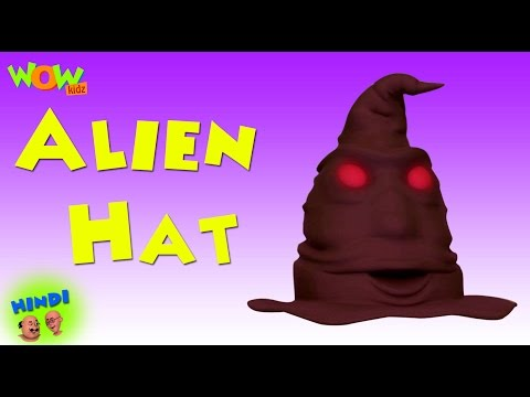 Alien Hat | Motu Patlu in Hindi WITH ENGLISH, SPANISH & FRENCH SUBTITLES | As seen on Nick
