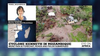 Cyclone Kenneth: More Rain Forecast In Mozambique, Roads And Fields Submerged