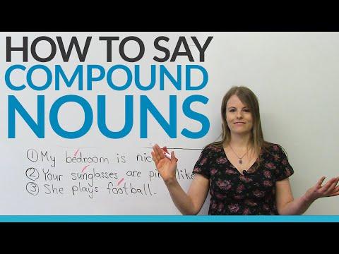 Sound like a Native Speaker: Compound Nouns