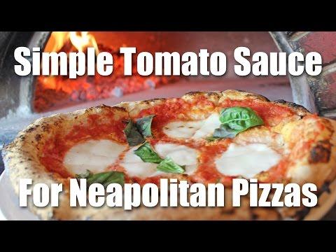 Tomato Sauce Recipe for Pizza