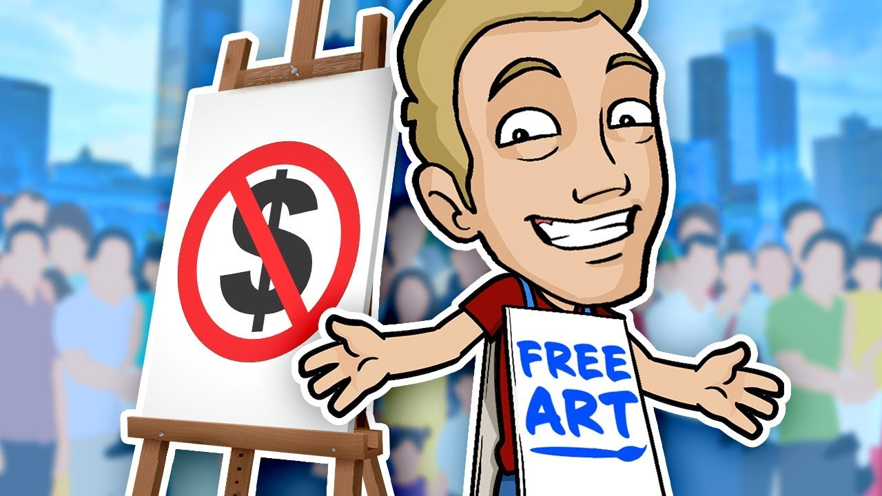 FREE ART!! - Taking Requests from Strangers in the City!