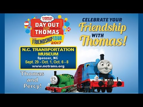 Day Out With Thomas 2017 at the N.C. Transportation Museum