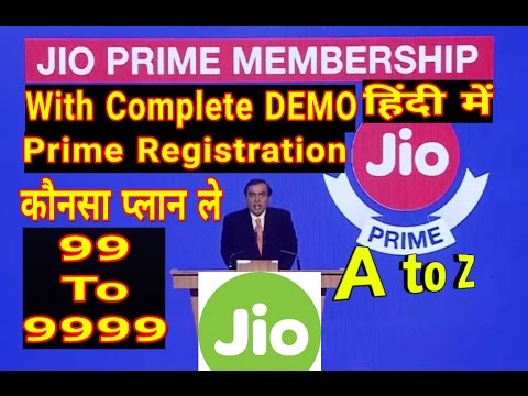 Jio prime registration DEMO, prepaid & postpaid plan comparison, Must know Jio terms and conditions