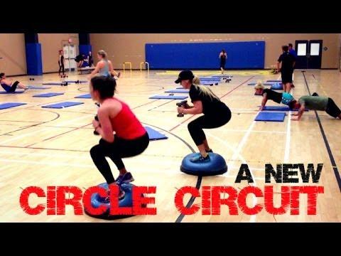 Circuit Training Ideas - Circle Circuit Bootcamp Workout