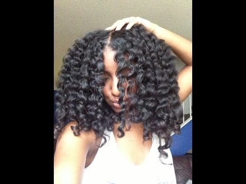 TUTORIAL | Olive Oil EcoStyler Gel Twist Out