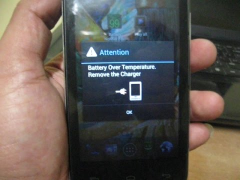 Battery Over temperature remove the charger (SOLVED)1000% working