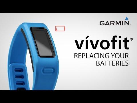 Garmin vívofit: Replacing Your Battery