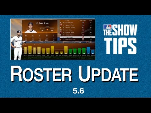 MLB The Show 16 - Roster Update (5.6)