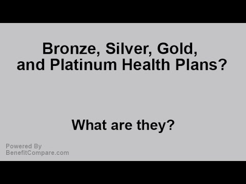 What are Bronze, Silver, Gold, and Platinum Plans?