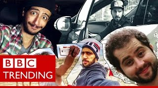 Heard the one about the Iranian comedians on Instagram? - BBC TRENDING