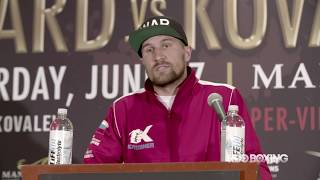 HBO Boxing News: Ward vs. Kovalev Final Press Conference Recap (HBO Boxing)