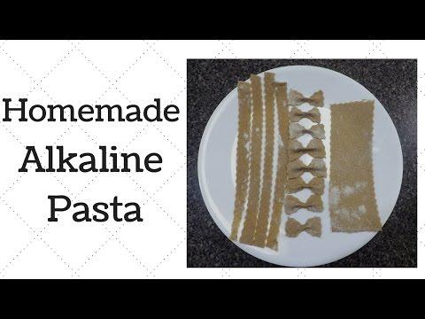 Homemade Pasta Dr. Sebi Alkaline Electric Recipe