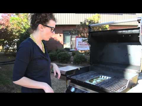 How To Grill a Turkey on a Gas Grill by Grill Girl