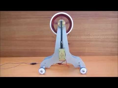 solenoid flywheel motor