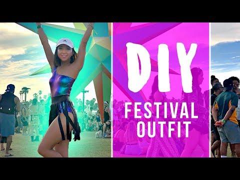 DIY Festival Outfit | Coachella 2018