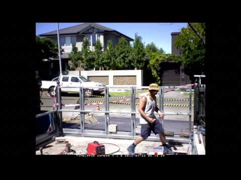 The Sidturn™ | Automated Turning Sliding Gate Malvern Pre Installation
