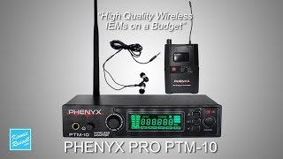 Best Budget Wireless In Ear Monitors? | Phenyx Pro PTM-10 Review