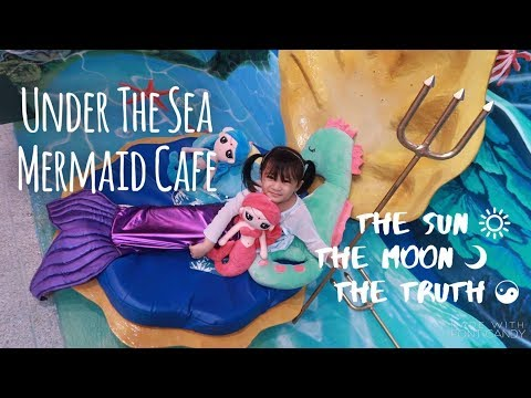 Under the Sea Mermaid Cafe in Maginhawa Street - Fulfill your mermaid Dreams :)
