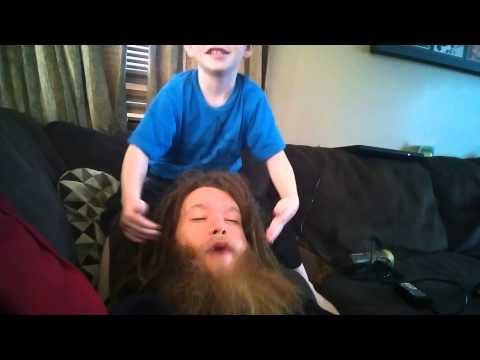 Bearded Whoopie Cushion