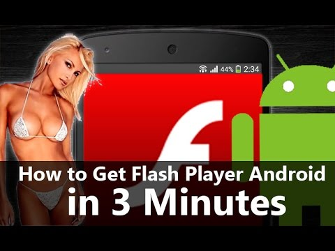 How to install Flash Player on Android phone or tablet