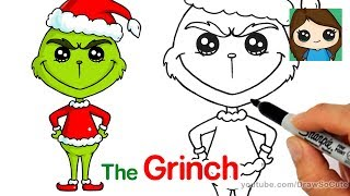 How to Draw The Grinch Easy
