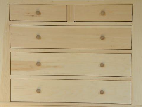 Dresser Build Part 2: Cabinet Construction