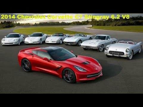 The evolution of the Corvette (from c1, c7, zr1 2018)