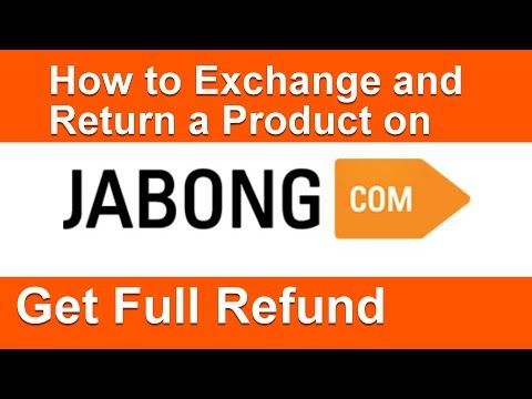 How to Exchange or Return a Product on Jabong - Get Full Refund to Bank