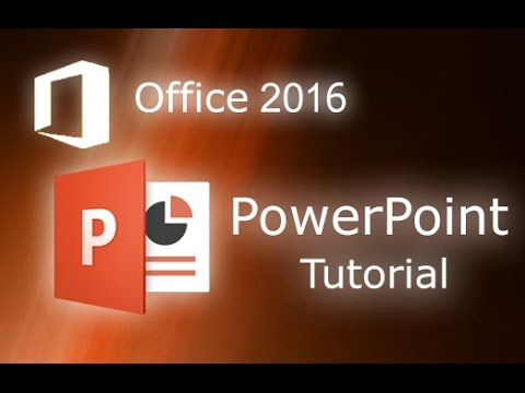 Microsoft PowerPoint 2016 - Full Tutorial for Beginners [ 14 MINUTES! ]*