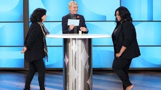 Octavia Spencer Spins Ellen