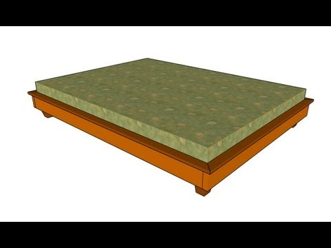 How to build a simple bed frame
