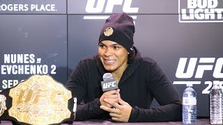 UFC 215: Amanda Nunes Post-Fight Press Conference – MMA Fighting