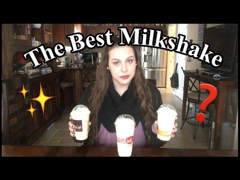 THE BEST MILKSHAKE?! | McDonald's, Burger King, or Jack in the Box
