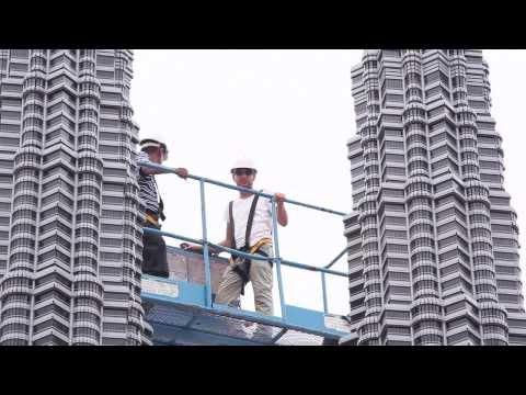 Petronas Twin Towers in LEGOLAND Malaysia Miniland