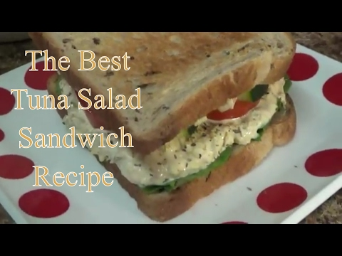 Homemade Tuna Salad Sandwich Recipe