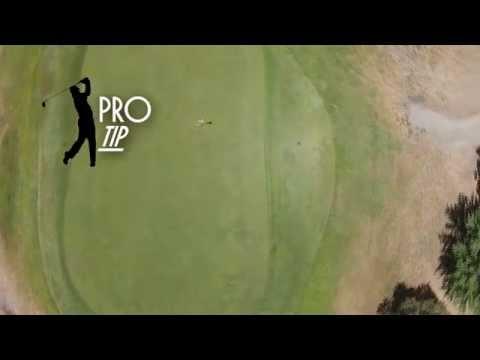 WHAKATANE GOLF COURSE - Hole 7 - Flyover & PRO TIP