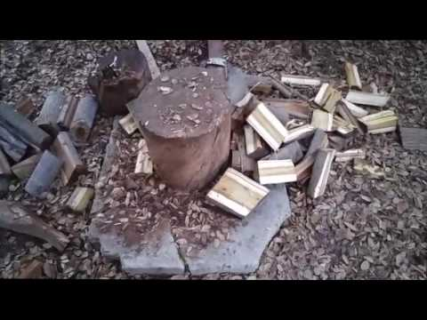 Build your own Kinetic Wood Splitter