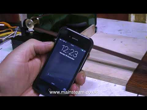 HOW TO CHARGE YOUR MOBILE PHONE USING A MODEL STEAM ENGINE - IN THE WORKSHOP