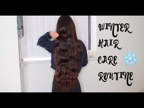 WINTER HAIRCARE ROUTINE FOR LONG+HEALTHY HAIR
